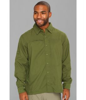 Mountain Hardwear Canyon L/S Shirt Mens Long Sleeve Button Up (Green)