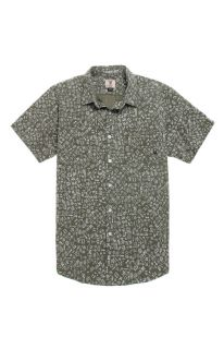 Mens Fourstar Shirts   Fourstar Ishod Short Sleeve Woven Shirt