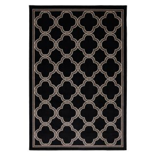 American Rug Craftsmen Panoramic Parsonage Indoor   Outdoor Rug Black   90010