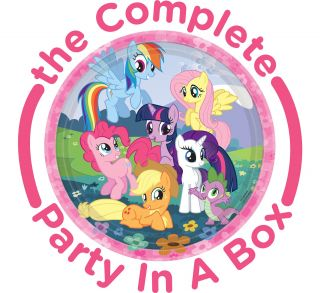 My Little Pony Friendship Magic Party Packs