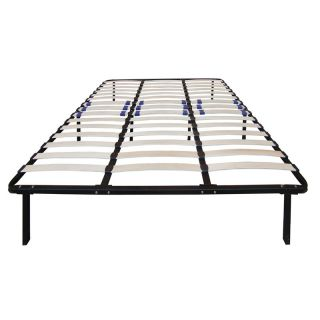 Pure Posture Wood Slat Bed Frame Multicolor   MFP00650CK, California King