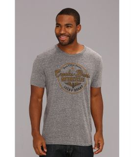 Lucky Brand Crooks Brothers Mens Short Sleeve Pullover (Gray)