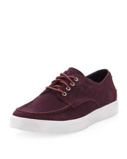 Bergen Suede Moccasin Oxford, Marron