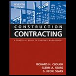 Construction Contracting  Practical Guide to Company Management  With CD