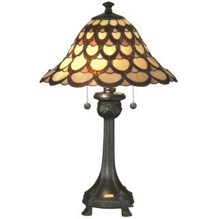 Dale Tiffany Peacock Table Lamp