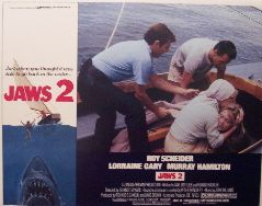 Jaws 2 (Original Lobby Card   Unnumbered Lobby Card   A) Movie