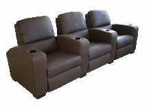 Arena Home Theater Seats Brown