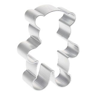 Cute Bear Shaped Aluminum Cookie Biscuit Cutter