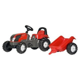 Kettler VALTRA Kid Tractor w/Trailer Ride On Toy