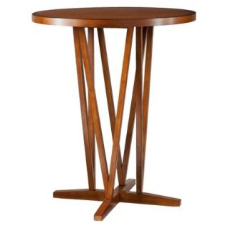 Bistro Table Southern Enterprises Devon Bistro Dining Table   Brown