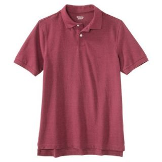 Mens Classic Fit Polo Shirt Rose Pink Red Essence XL