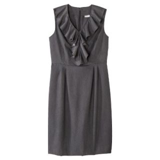 Merona Petites Sleeveless Sheath Dress   Gray 18P