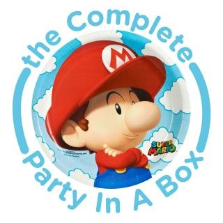 Super Mario Bros. Babies Party Packs