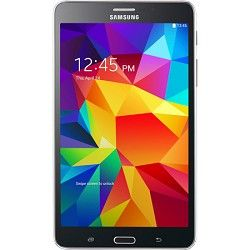 Samsung Galaxy Tab 4 Black 8GB 7 Tablet   1.2 GHz Quad Core Proc., Android 4.4,