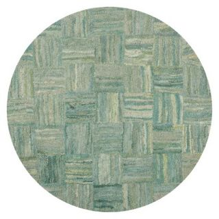 Safavieh Reed Area Rug   Green/Multicolor (6x6 Round)