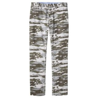 Mossimo Supply Co. Mens Slim Fit Chino Pants   Mesa Gray Camouflage 34x34