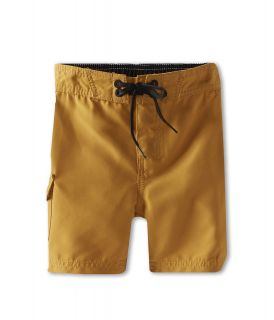 Billabong Kids Rum Point Boardshort Boys Swimwear (Yellow)