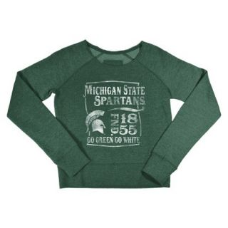 NCAA Kids Michigan State Fleece   Green (XS)