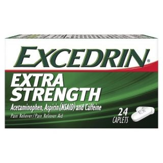 Excedrin Extra Strength Pain Reliever Caplets   24 Count
