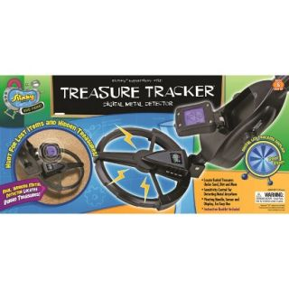 Alex Brands Scientific Explorer 017000BL Treasure Tracker Digital Metal Detector