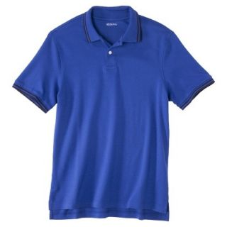 Mens Classic Fit Polo Shirt Blue Streak XXL T