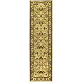 Lyndhurst Collection Majestic Ivory/ Ivory Runner (23 X 20)