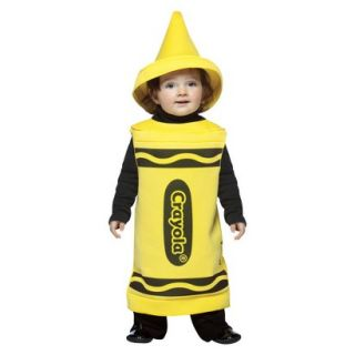 Yellow Crayola Crayon Toddler Costume   3T 4T