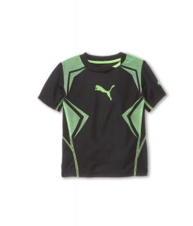 Puma Kids Angle Tee Boys Short Sleeve Pullover (Black)