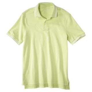 Mens Classic Fit Polo Shirt luminary yellow green XX