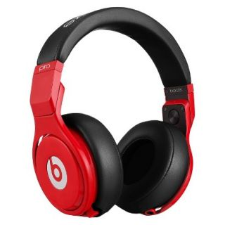 Beats by Dre Pro Lil Wayne On the Ear Headphones   Red/Black (BT OV PRO RBL)