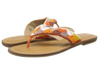 Kenneth Cole Reaction Not Too Slabby Womens Sandals (Orange)