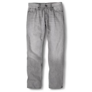 Mossimo Supply Co. Mens Slim Straight Fit Jeans   Gray 34X32