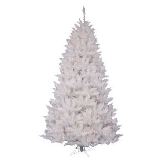 5.5 Pre Lit White Spruce Tree   Clear Lights