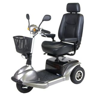 Prowler 3310 3 Wheel Full Size Scooter   22 Captain s Seat, Metallic Gray
