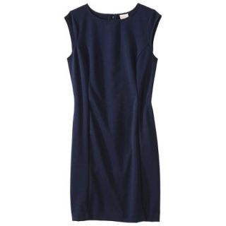 Merona Womens Ponte Sheath Dress   Xavier Navy   XXL