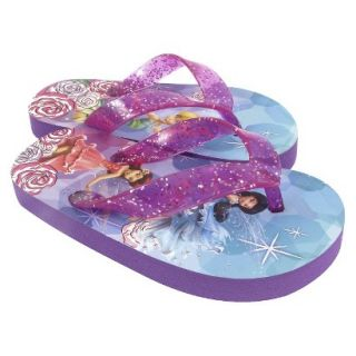 Toddler Girls Tinkerbell Flip Flop Sandals   Multicolor 11