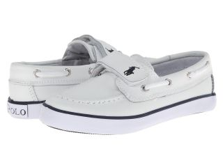 Polo Ralph Lauren Kids Vulcanized Sander EZ SP12 Kids Shoes (White)