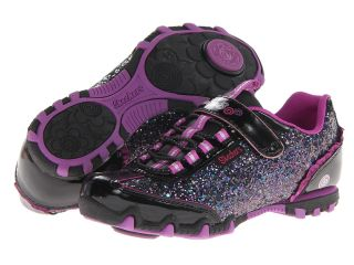 SKECHERS KIDS Bella Ballerina Prima Sparkle N Spin 82045L Girls Shoes (Black)