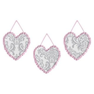 Sweet JoJo Designs Elizabeth Wall Hangings