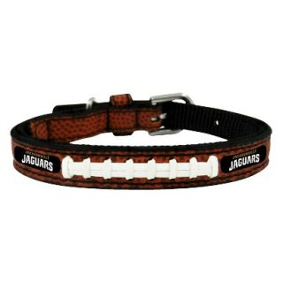 Jacksonville Jaguars Classic Leather Toy Football Collar