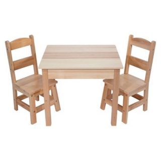 Kids Table and Chair Set Melissa & Doug Wooden Table & Chairs Set