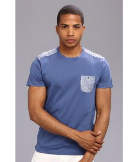Ben Sherman Trim Woven Jersey Tee Mens T Shirt (Multi)