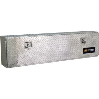 Locking Aluminum Top Mount Truck Box   60 Inch x 12