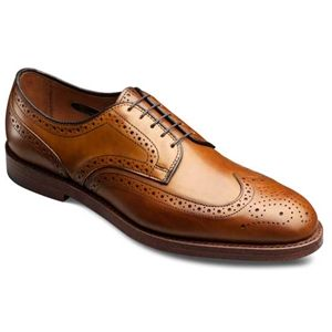 Allen Edmonds Mens Players Shoe Walnut Burnished Shoes, Size 10.5 3E   9752