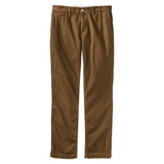 Mossimo Supply Co. Mens Slim Fit Chino Pants   Gilded Brown 36x32