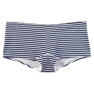 JKY By Jockey Womens Cotton Stretch Boyshort   Navy Stripe 5