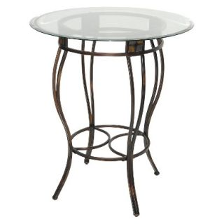 Pub Table Boraam Industries Beau 42 Dining Table   Black