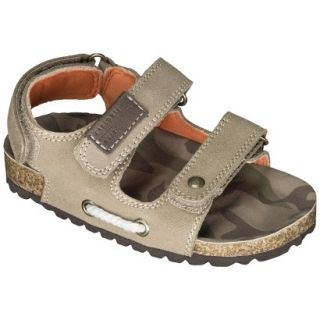 Toddler Boys Genuine Kids from OshKosh™ Obie Genuine Suede Footbed Sandals