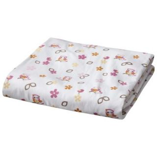 Baby Fitted Crib Sheet   In The Woods