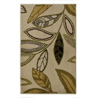 Mohawk Home Modern Botanical Accent Rug   Shell (12x28)